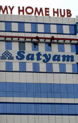 Satyam's offices - a Reuters photo