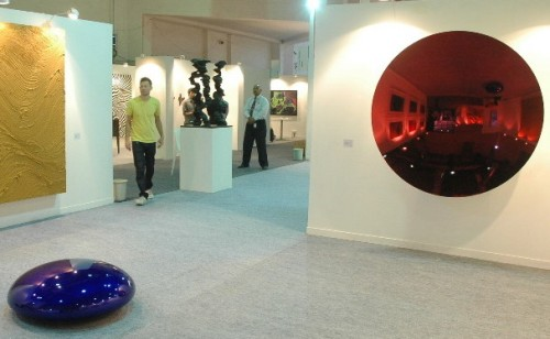 Anish Kapoor sculptures (see below)