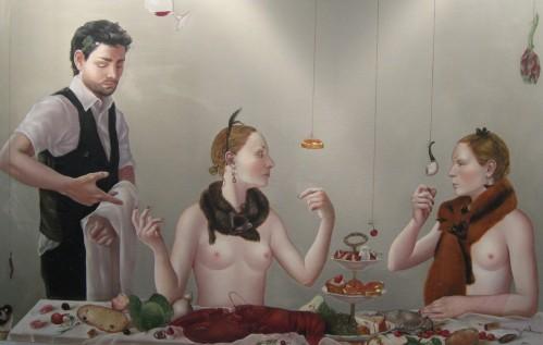 'Holy Bread' by Anita Arbidane - Ivonna Veiherte Art Gallery, Latvia
