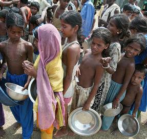 food queues