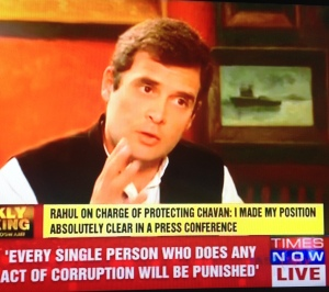 Rahul - corruption
