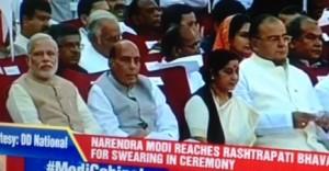 Narendra Modi, Rajnath Singh, Sushma Swaraj, Arun Jaitley