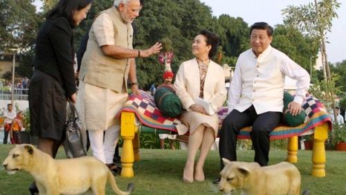 Modi-Xi2 -Peng - PTI - Indian Express