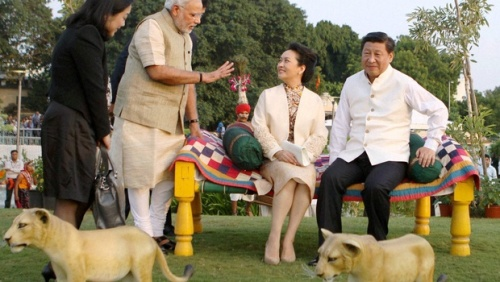 Modi-Xi2 -Peng - PTI - Indian Express