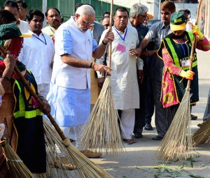 INDIA-POLITICS-SANITATION-ENVIRONMENT-HEALTH