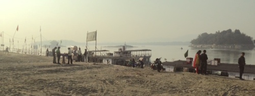 The Brahmaputra River at Guwahati