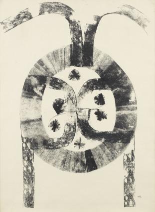 Lot 31 - Vasudeo S. Gaitonde - Composition No. 3
