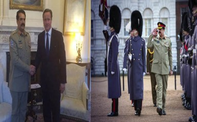 Gen Raheel Sharif meets David Cameron - Jan 15 '15 The Sindh Times