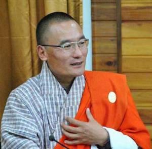 Prime minister Tshering Tobgay