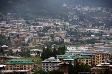 Thimphu sprawl - Getty images