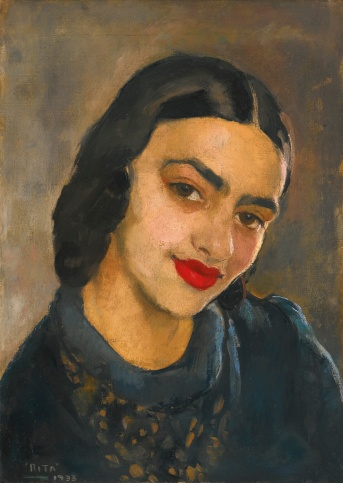 amrita_sher_gil-self_portrait_Sotheby's March '15