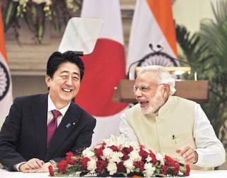Abe Modi Delhi Dec 12 '15 - Business Standard