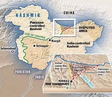 siachen map