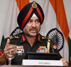 DGMO Ranbir Singh briefs media