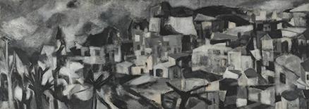 akbar-padamsee-greek-landscape-saffnat-sept-16