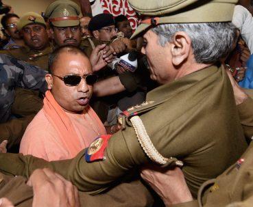 Yogi Adityanath  elected leader of the BJP Legislature Party
