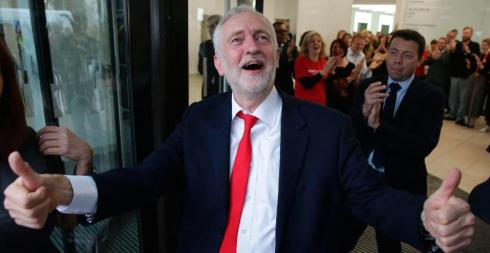 Corbyn happy