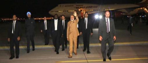 Modi arrives Washington 2