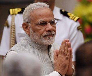 India Prime Minister Narendra Modi greet