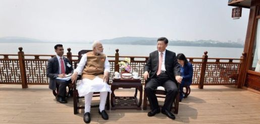 Modi-Xi-begin-second-round-of-talks-in-Wuhan-1