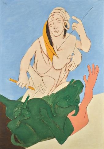 Lot 23, Mehta, Durga Mahisasura Mardini (1993), INR 20,00,00,000-30,00,00,000 copy