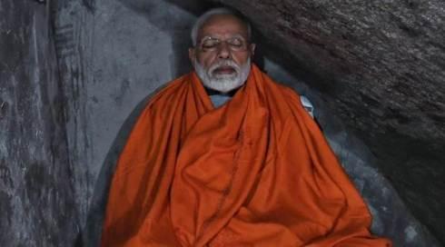 narendra-modi cave