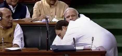 RAHUL MODI hug