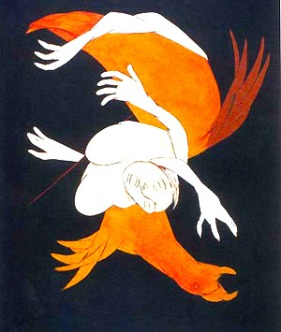 tyeb-mehta-falling-figure-with-bird