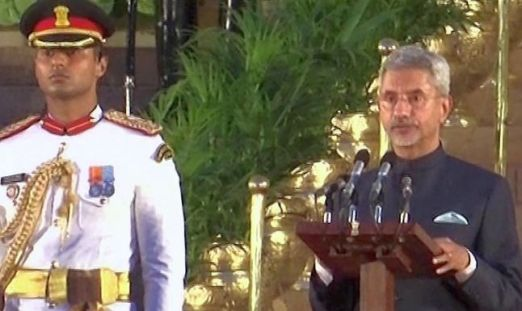 jaishankar swearing in
