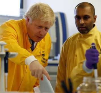 Boris visit